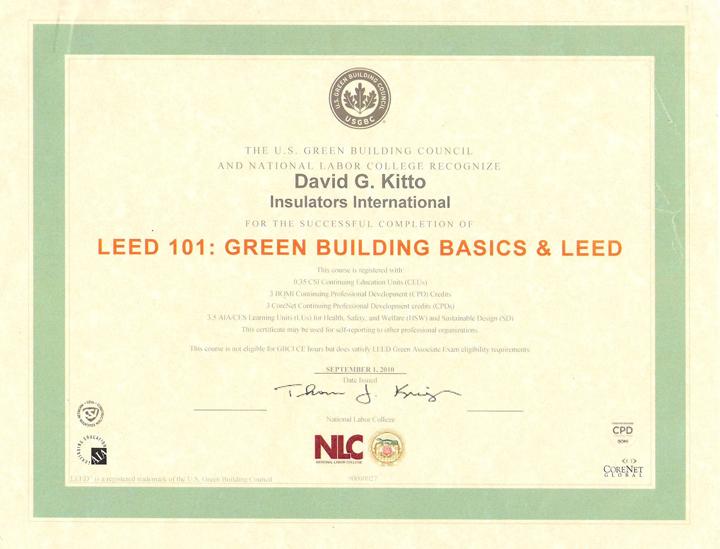 LEED 101 certificate 001